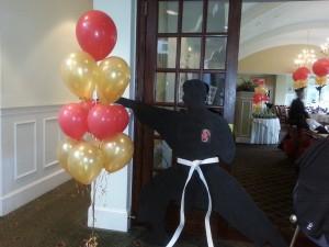 Silvers Bar Mitzvah - Karate Theme Decor - Sea Oaks Country Club (19)