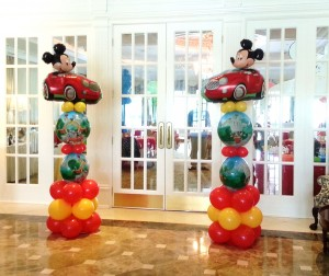 Mickey Mouse Clubhouse Theme Columns