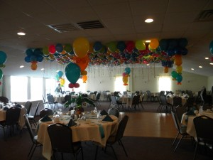 Classic Bouquets with Balloon Sky