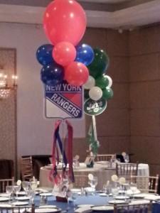 NY Sports Theme Bar Mitzvah
